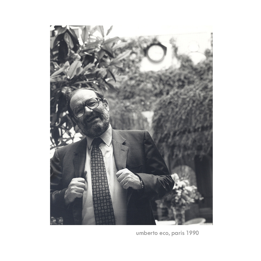 Umberto Eco, parsi 1990