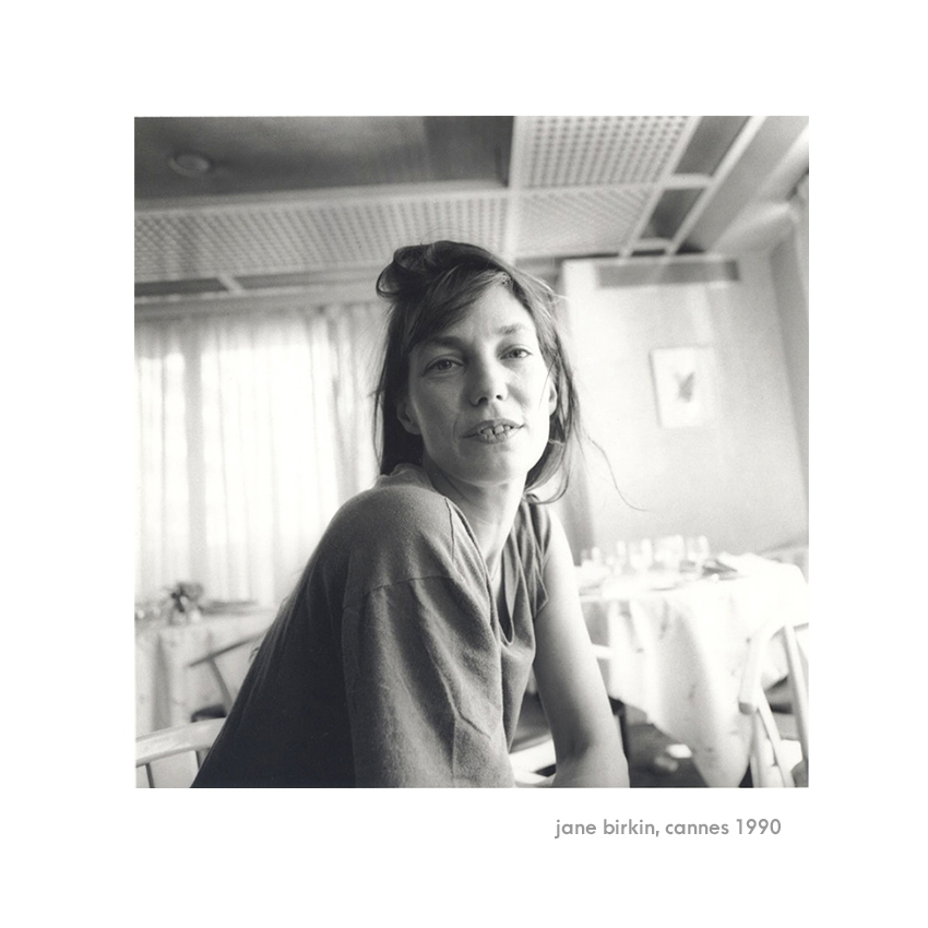 Jane Birkin, Cannes 1990