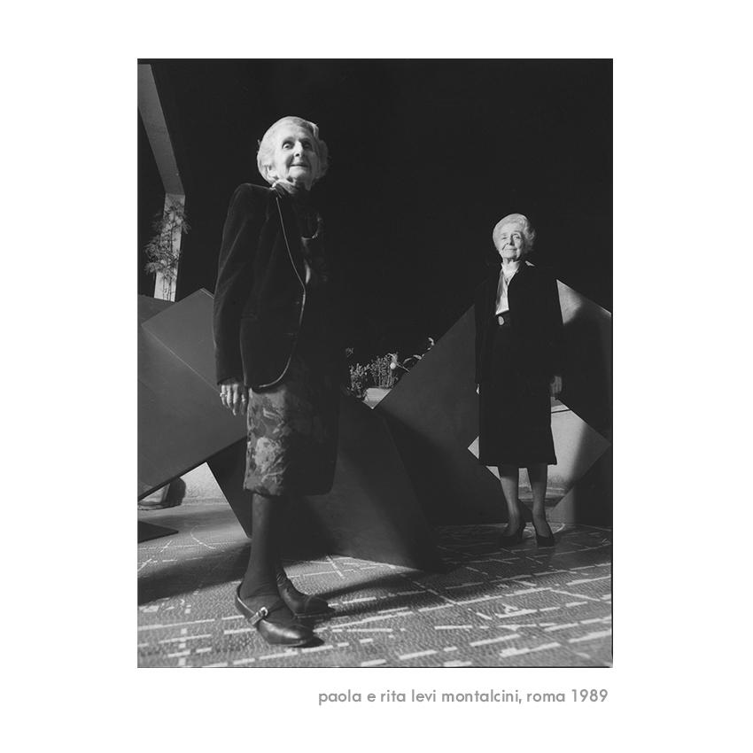 Paola e Rita levi Montalcini, Roma 1989